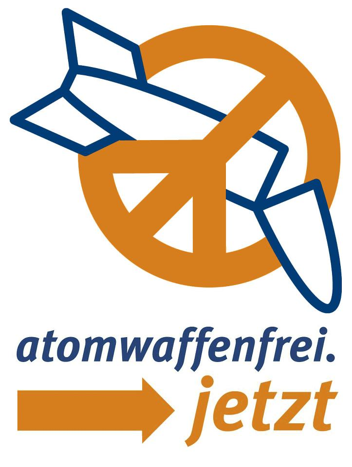 Logo atomwaffenfrei jetzt